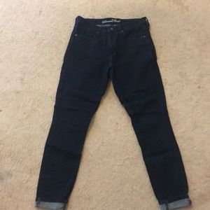 Dark High Waisted Universal Thread Skinny Jeans